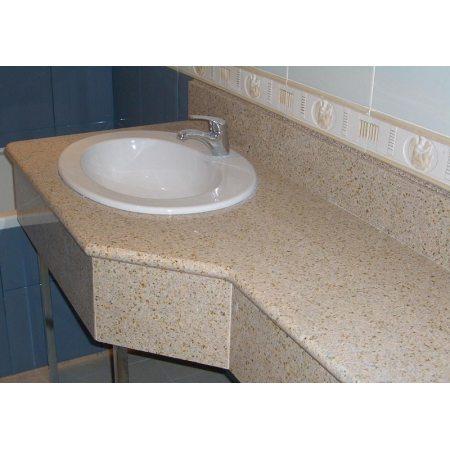 Оформление ванной комнаты натуральным камнем