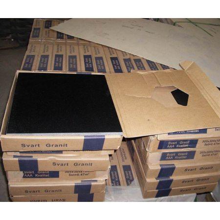 Пример упаковки плитки