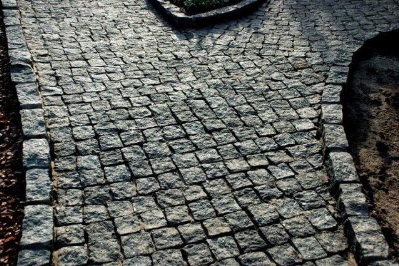 Гранитная брусчатка москва цена изготовление памятников из гранита цена Шоссе Энтузиастов