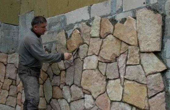 Облицовка натуральным камнем - наружная и внутренняя отделка