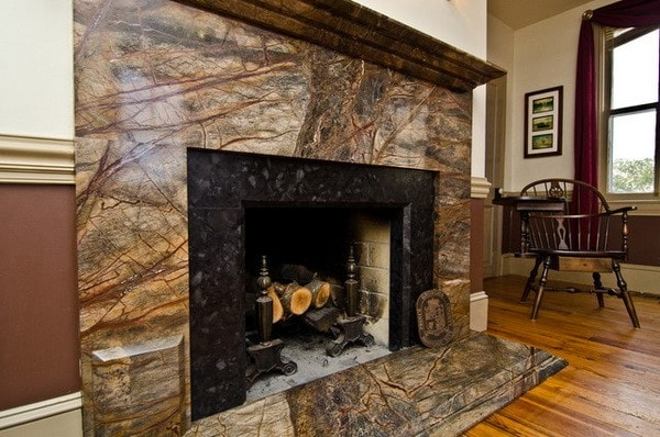 Облицовка каминов природным камнем дымоходы для бани сэндвич цена
