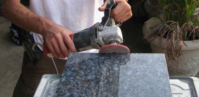 Полировка мрамора, гранита и других видов камня